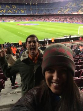 Camp Nou Barcelona Futbol Match