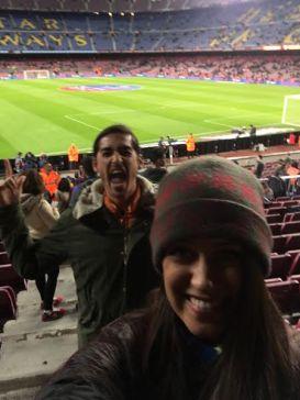 Camp Nou Barcelona Futbol Match